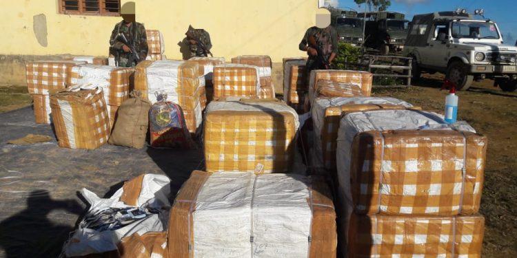 Assam Rifles seize medicine in Manipur