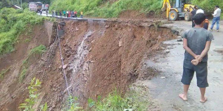 Landslide in Manipur