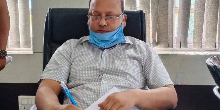 File image of Kamrup Metro ADC Chinmoy Nath