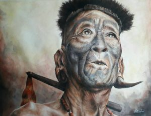 Meet Vithuse Temi, Nagaland's self-taught artist whose works are rooted in rural areas 3