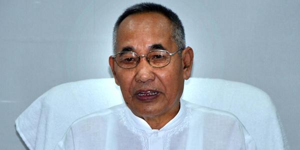 File image of Manipur deputy chief minister Yumnam Joykumar Singh