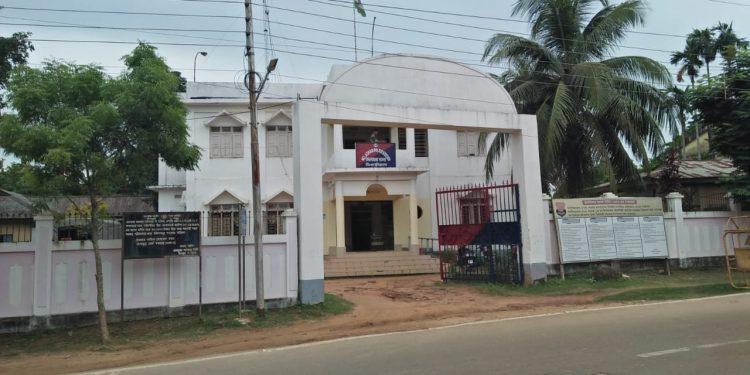 Melaghar Police Station. Image: Northeast Now