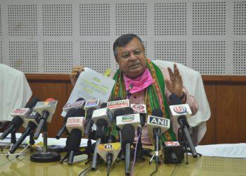 Tripura law minister Ratan Lal Nath. Image: Northeast Now