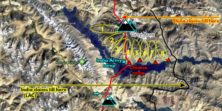 Situation on ground in Ladakh