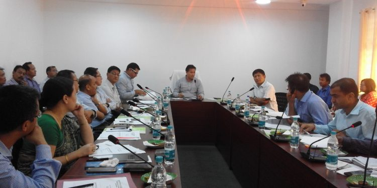 Manipur rural development minister chairs review meet in Imphal 1