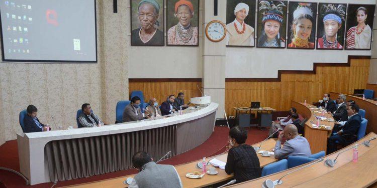 Conrad Sangma meeting