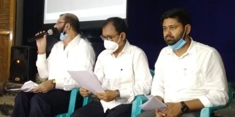 """The AASU while addressing a press conference said they were releasing it only because the """"government is just sitting idle""""."""
