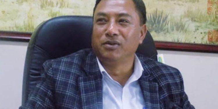 Health minister A L Hek