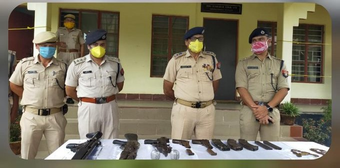 Assam: Cache of arms recovered in Chirang 1