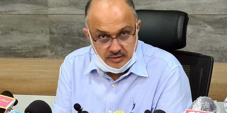 Arunchal Pradesh chief secretary Naresh Kumar