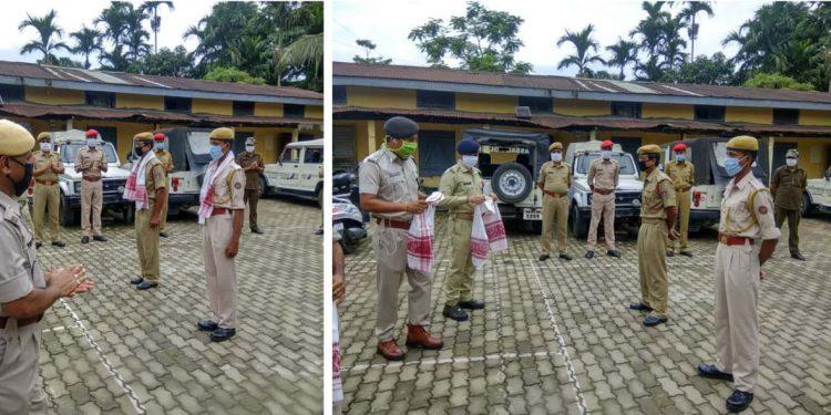 Assam Police Corona Warriros