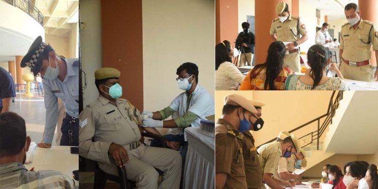 Assam Police plasma donors