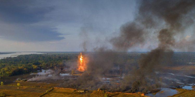 Baghjan fire (File image)