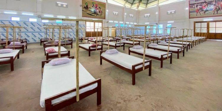 A Covid care centre. (File image)