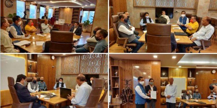 MDA partners meet Meghalaya CM, discuss boundary, language, railway line issues 1