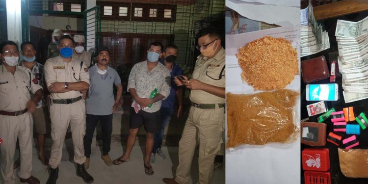 Drugs seized in Dibrugarh
