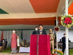 Meghalaya CM unfurls tricolour; says world is living through unprecedented times 1