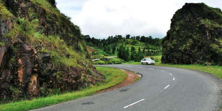 Journey by road in Meghalaya