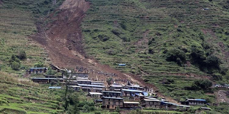 18 killed, 21 missing in massive landslide in Nepal 1