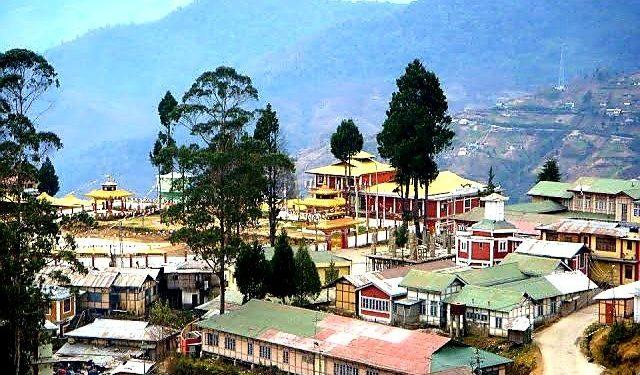 Bomdila town in Arunachal.