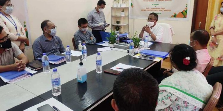 Manipur signs MoU with hospitals for implementation of health schemes 1