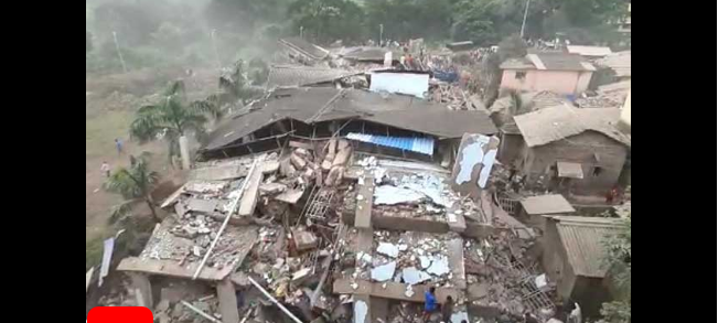 Over 70 feared trapped as 5-storey building collapses on Mumbai outskirts 1
