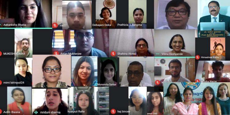 Rajiv Gandhi University webinar