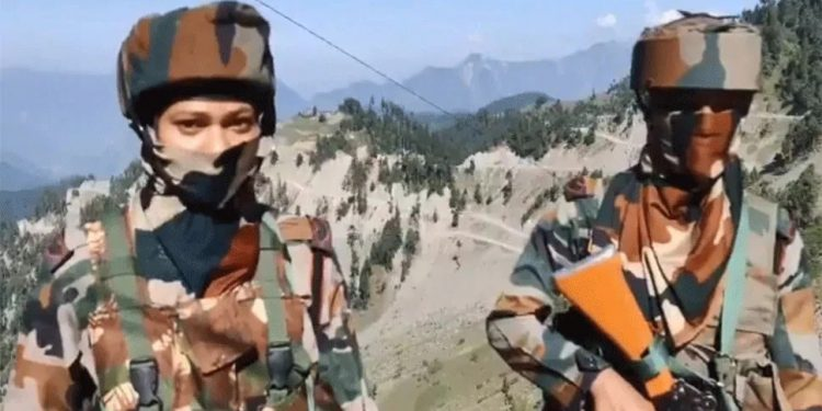 Rifle women from Assam Rifles deployed along LoC for first time 1