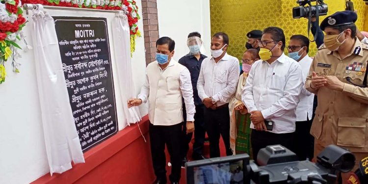 Assam CM inaugurates renovated building of century-old Dhubri police station 1