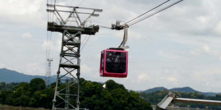 Ropeway over Brahmaputra launched