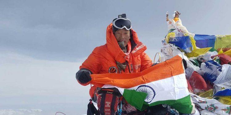 Arunachal Pradesh mountaineer Taka Tamut