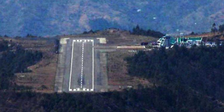 The Jubbarhatti table-top airport of Shimla