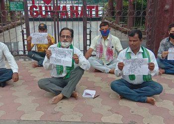 Demand made to arrest Hojai MLA Shiladitya Dev