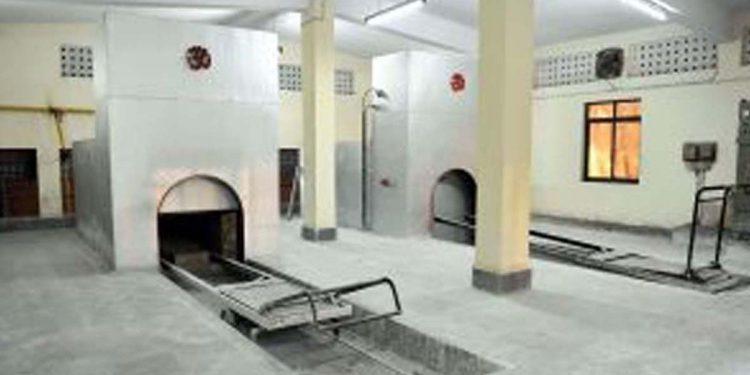 Electric crematorium in Guwahati