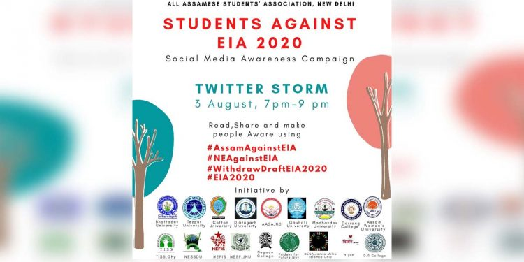 Twitter storm against EIA