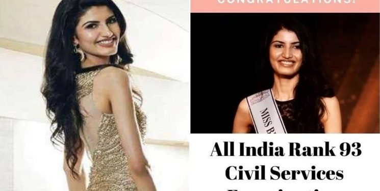 Former Miss India finalist's inspirational journey from glamour to cracking UPSC 1