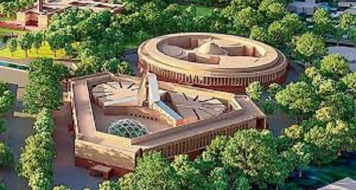 Proposed design of new Parliament building. Image courtesy: Hindustan Times