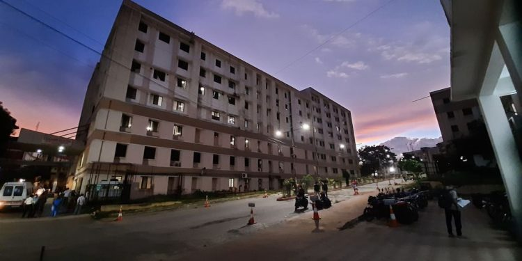 Power cut in GBP Hospital in Agartala in Tripura. Image: Northeast Now