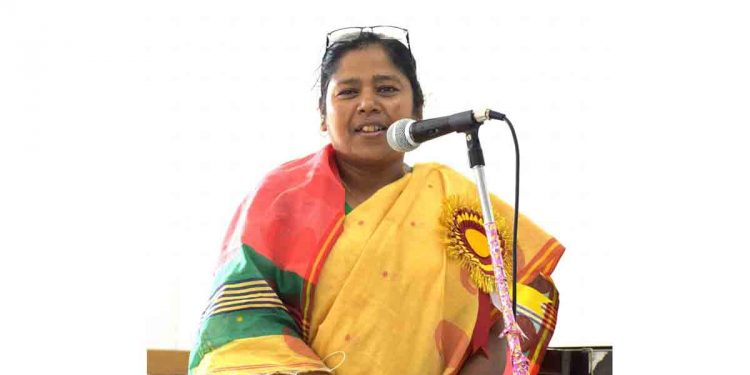Tripura MP Pratima Bhowmik