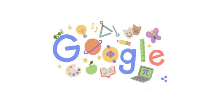 Teachers' Day special doodle by Google in respect of the teaching community 1
