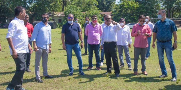 ACA team in Majuli.