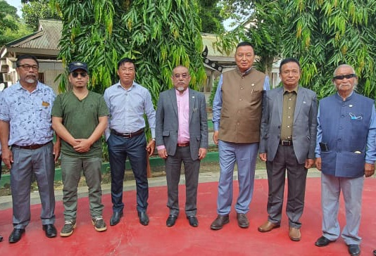 Time to announce solution approaching: Naga National Political Groups 1