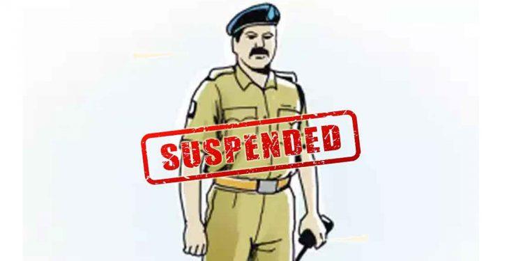 Police officer suspended in Mizoram