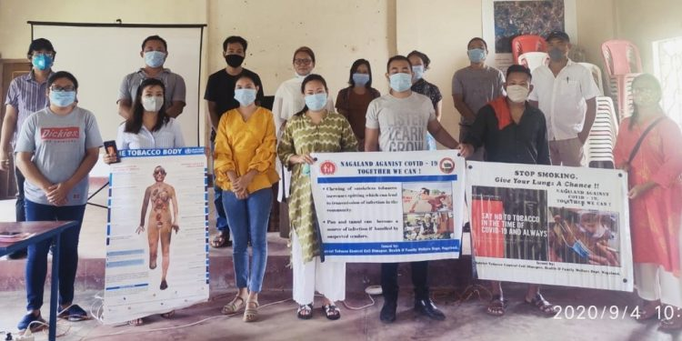 Tobacco control programme in Dimapur on Friday. Image: Northeast Now