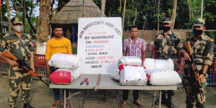 BSF apprehends cattle smuggler