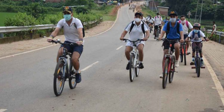 Assam: Fit India awareness cycling rally taken out in Goalpara 1