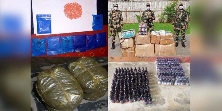 BSF seizes drugs in Tripura