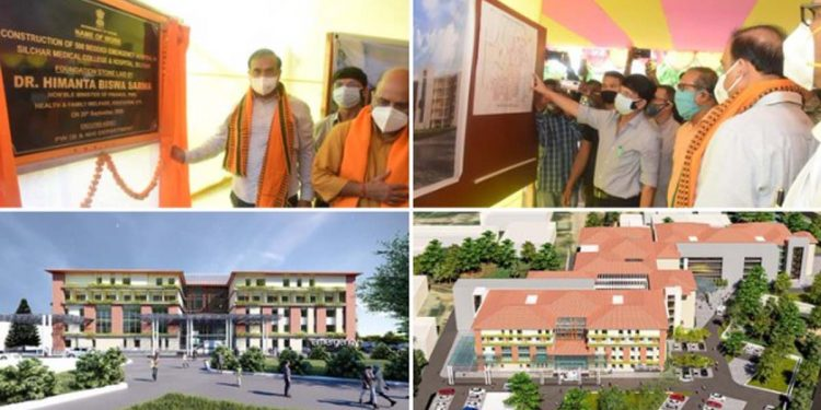 Assam health minister lays foundation stone of 50-bed emergency wing in Silchar Medical College Hospital 1
