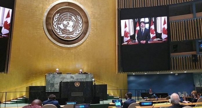 The things are about to get much worse unless we change: Justin Trudeau at UN General Assembly.