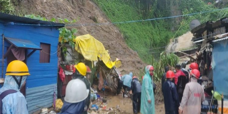Nine people have died in East Khasi Hills district either due to landslides/flash floods or washed away by strong waters of streams or rivers in the past one week.